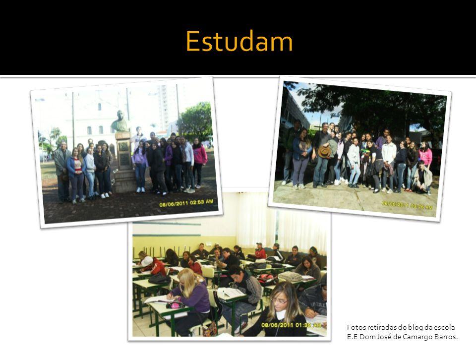Fotos retiradas do blog da escola E.E Dom José de Camargo Barros.