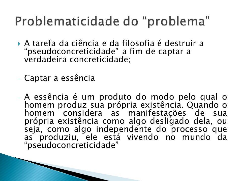 A essência do problema é a necessidade Assim, uma questão, em si, não caracteriza o problema, nem mesmo aquela cuja resposta é desconhecida; mas uma questão cuja resposta se desconhece e se necessita conhecer, eis aí um problema.