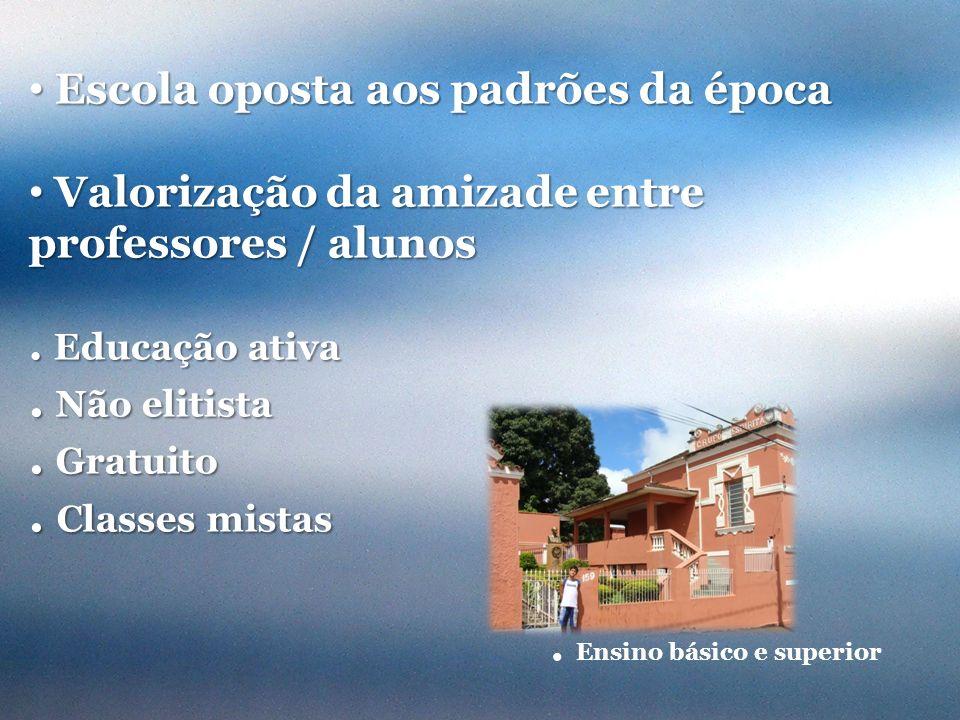 Busto do missionário e precursor da pedagogia espírita no Brasil.