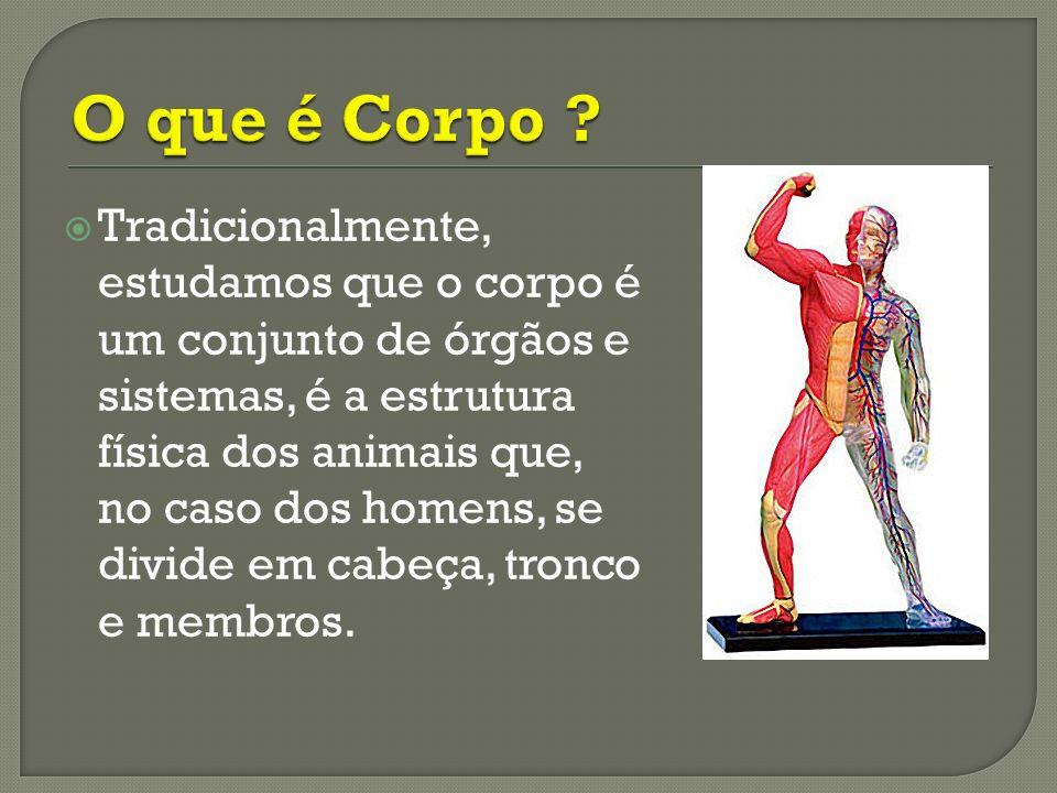 O corpo é situado historicamente, é fruto da cultura e ao mesmo tempo criador de cultura.