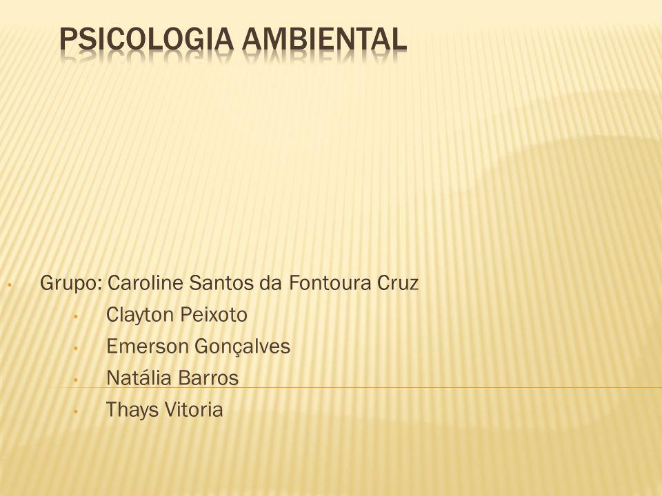 Grupo: Caroline Santos da Fontoura Cruz Clayton Peixoto Emerson Gonçalves Natália Barros Thays Vitoria