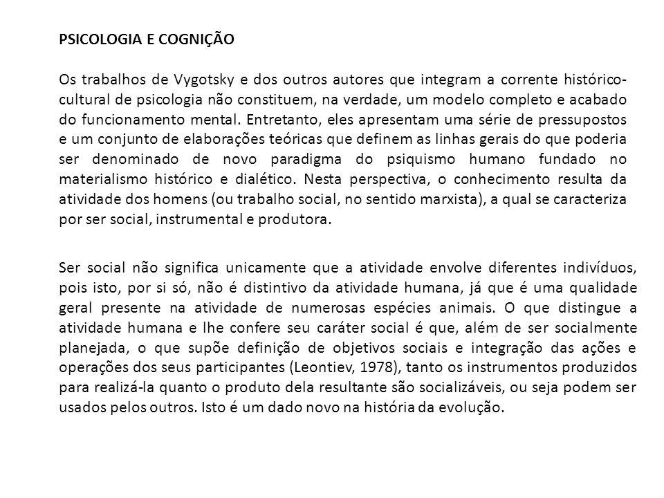 DIAGRAMAS DA ATIVIDADE HUMANA SUJEITO MEDIAÇÃO OBJETO SEMIÓTICA HOMEM MEDIAÇÃO NATUREZA TÉCNICA E.
