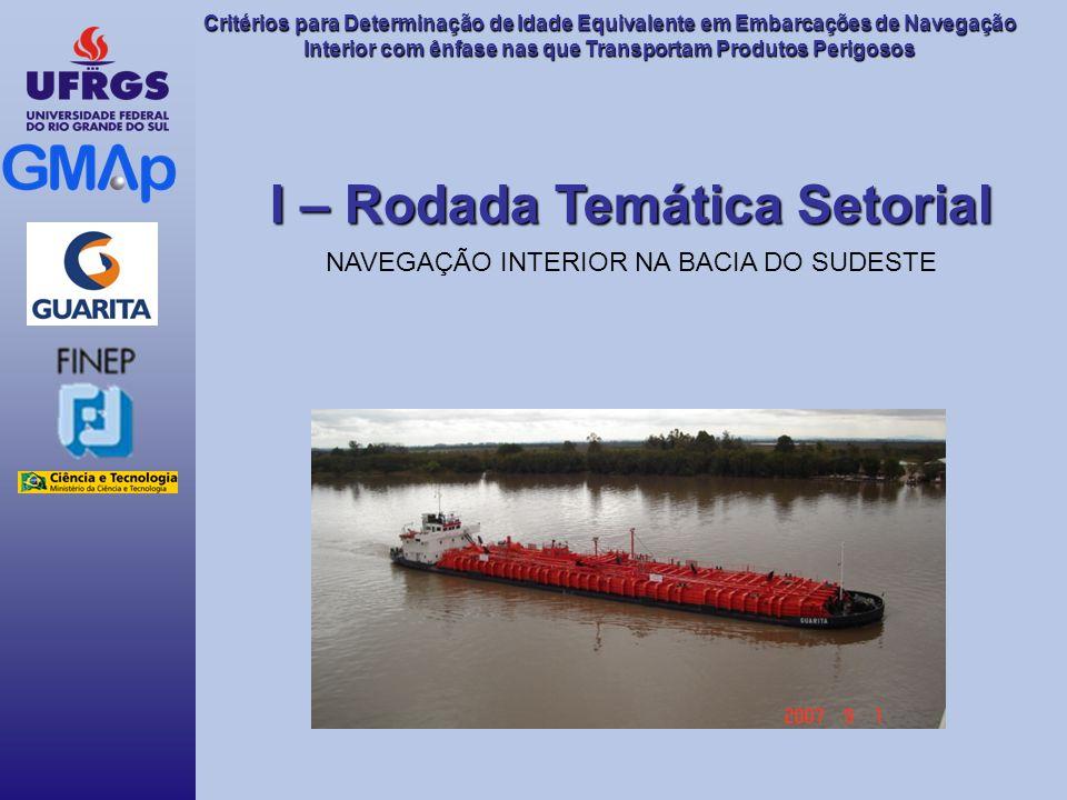 Critérios para Determinação de Idade Equivalente em Embarcações de Navegação Interior com ênfase nas que Transportam Produtos Perigosos I – Rodada Tem