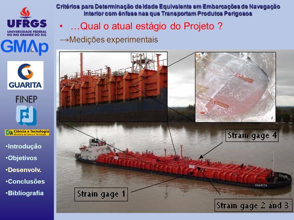 Introdução Objetivos Desenvolv. Conclusões Bibliografia Critérios para Determinação de Idade Equivalente em Embarcações de Navegação Interior com ênfa