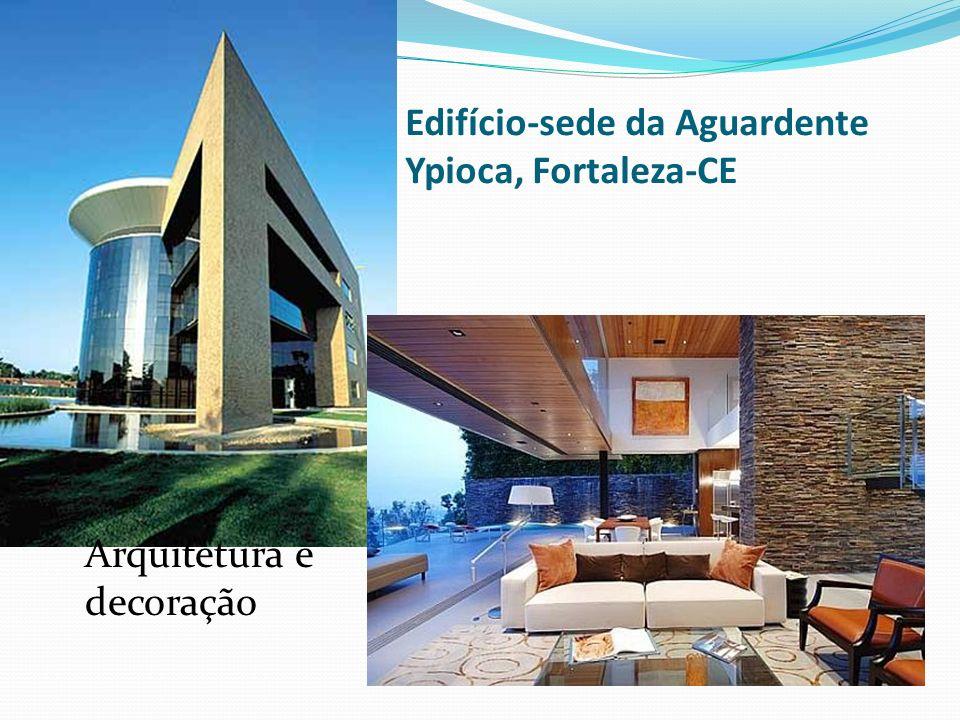 Edifício-sede da Aguardente Ypioca, Fortaleza-CE Arquitetura e decoração