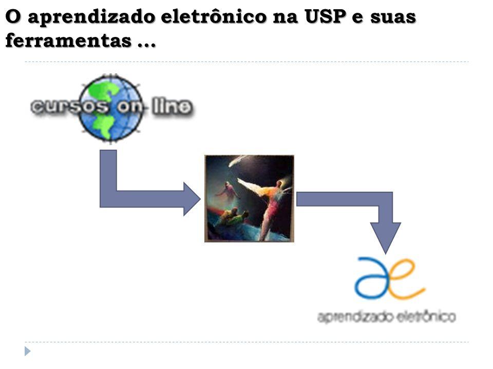 O aprendizado eletrônico na USP e suas ferramentas...