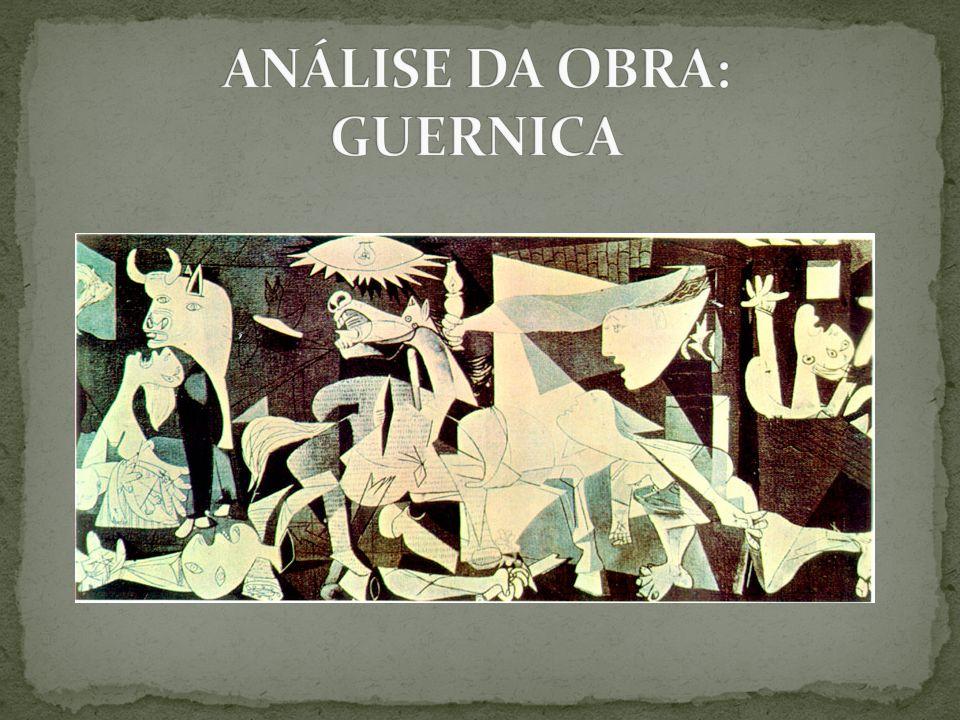 Analisando o carácter simbólico desta obra, (Guernica, pintada por Pablo Picasso em 1937) devemos começar pelo nível de realidade que esta possui.