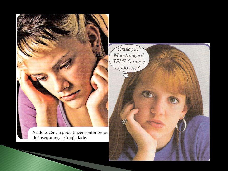 O termo adolescência se refere a uma fase da vida caracterizada por muitas mudanças no corpo, na mente e no comportamento das pessoas; Fase que gera i