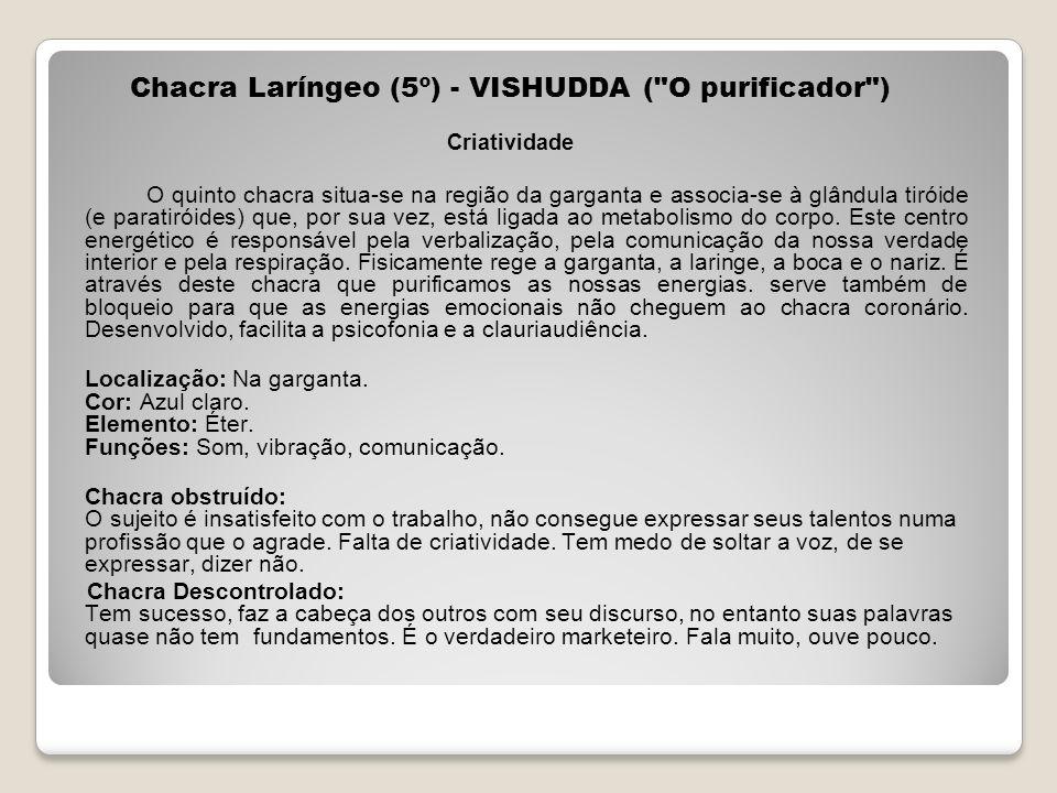 Chacra Laríngeo (5º) - VISHUDDA (