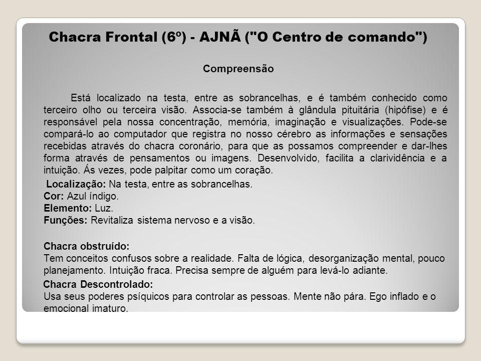 Chacra Frontal (6º) - AJNÃ (