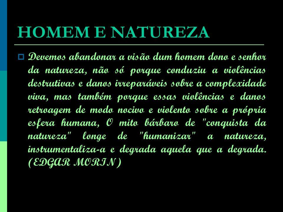 Desde suas origens, o homem vem se organizando em sociedade para produzir suas condições de vida na inter-relação que estabelece com a natureza, transformando-a pelo trabalho social.
