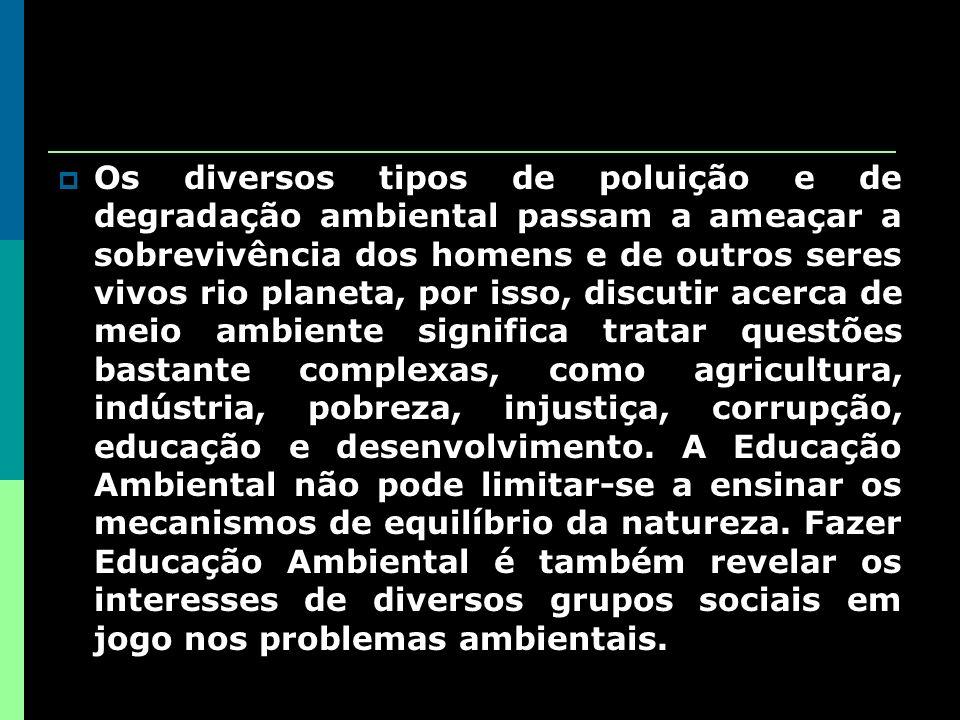 Características da educação Ambiental