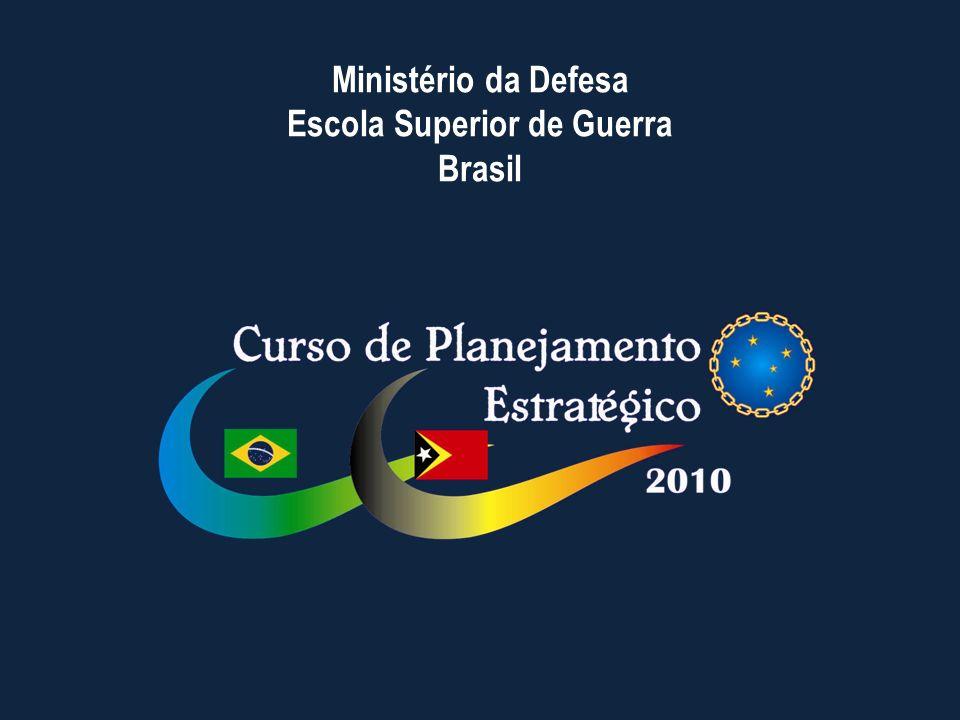 Ministério da Defesa Escola Superior de Guerra Brasil