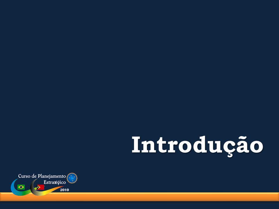 Estrutura do Poder Nacional Organizações São agentes que promovem os fatores.