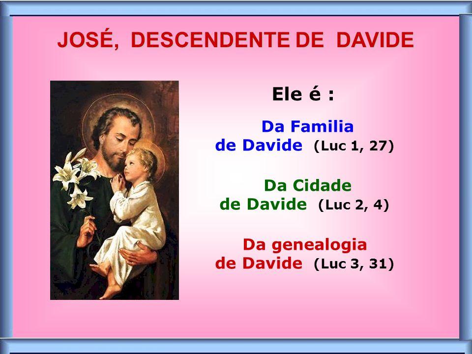 .. «Ide a José» Ele é poderoso junto do seu Filho Jesus! TENDE CONFIANÇA !