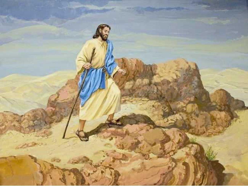 O Evangelho fala das tentações de Jesus.