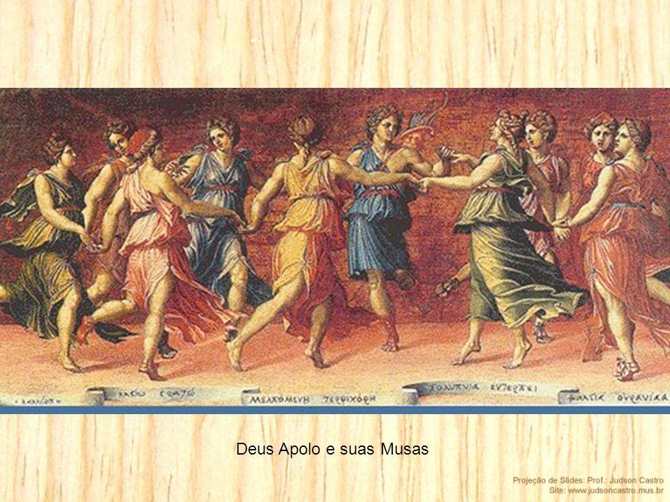 Deus Apolo e suas Musas