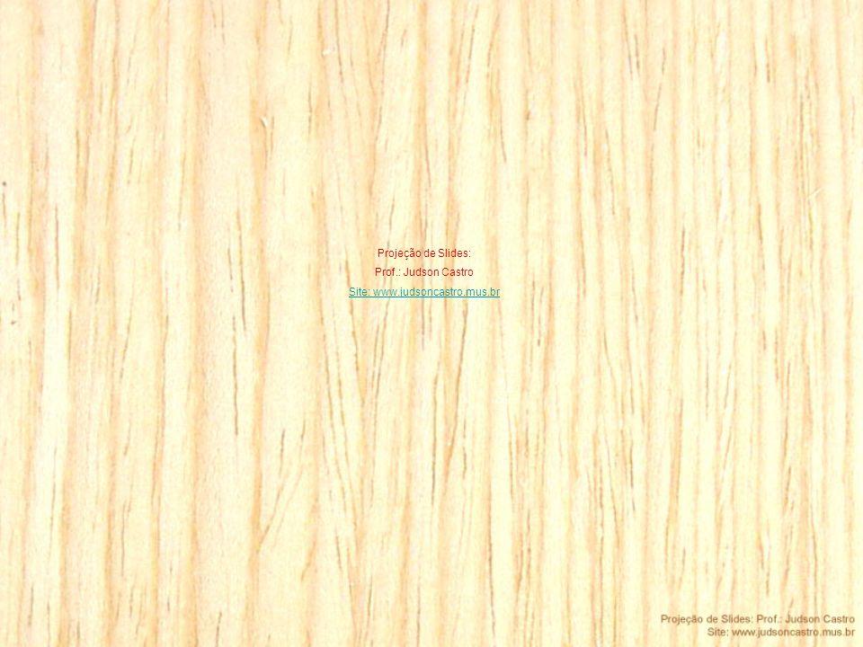 Projeção de Slides: Prof.: Judson Castro Site: www.judsoncastro.mus.br