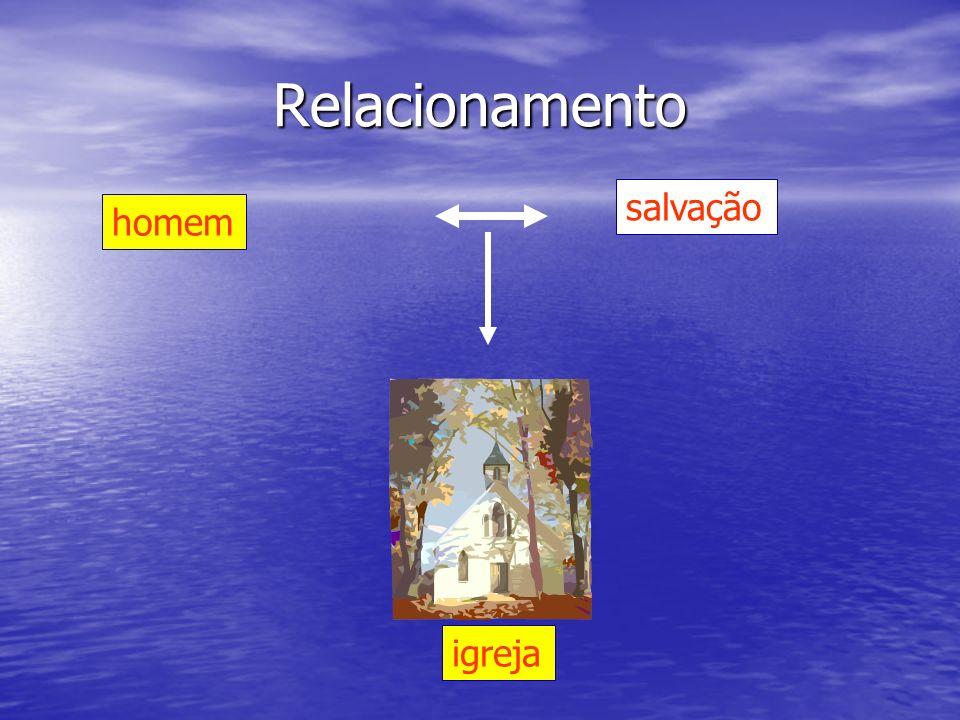 homem salvação Relacionamento igreja