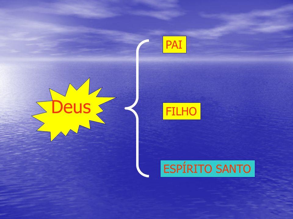 Deus PAI ESPÍRITO SANTO FILHO