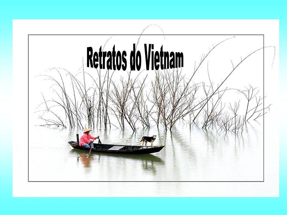 VIETNAM – Natureza bela e exuberante. Um povo com forte espírito de união, de amor à terra e à LIBERDADE. A sua tenaz resistência ao domínio da maior