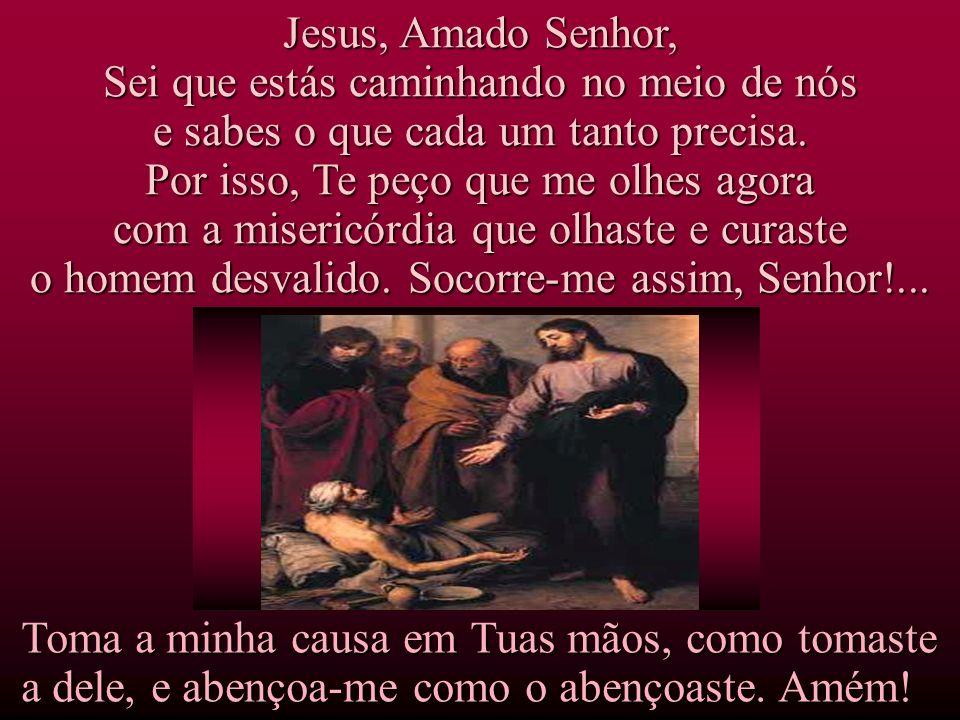 O grandioso exemplo do homem que jamais desistiu nos convida nos convida a colocar diante de Jesus os sonhos que há tanto tempo temos esperado que se