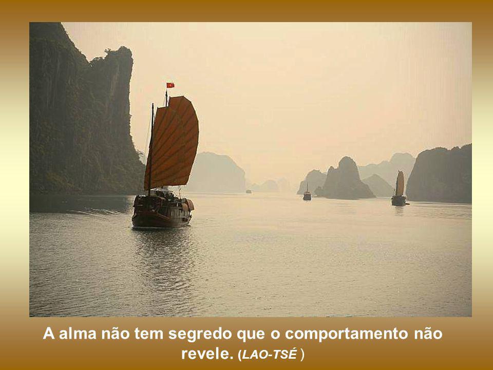 O sábio não se exibe e vejam como é notado. Renuncia a si mesmo e jamais será esquecido. (LAO-TSÉ )