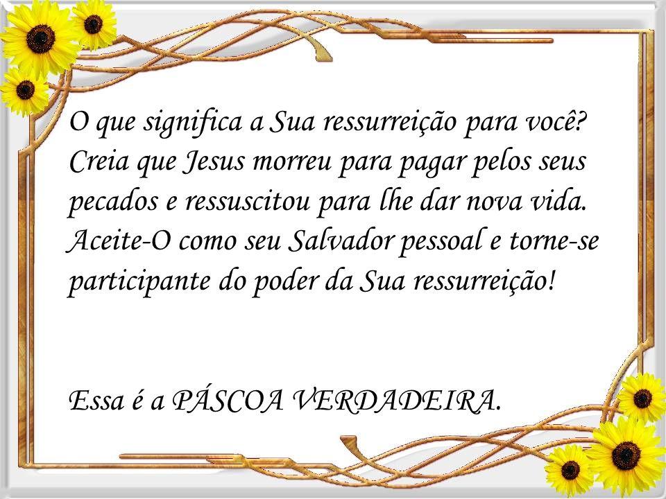 Os homens pensaram acabar com a obra de Jesus, matando-O – mas Ele ressuscitou como Vencedor e vive hoje! Através de sua morte e ressurreição todos os