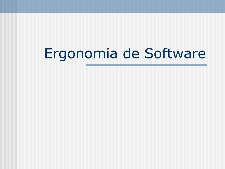 Ergonomia de Software