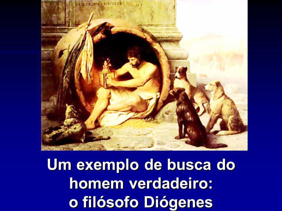 Um exemplo de busca do homem verdadeiro: o filósofo Diógenes