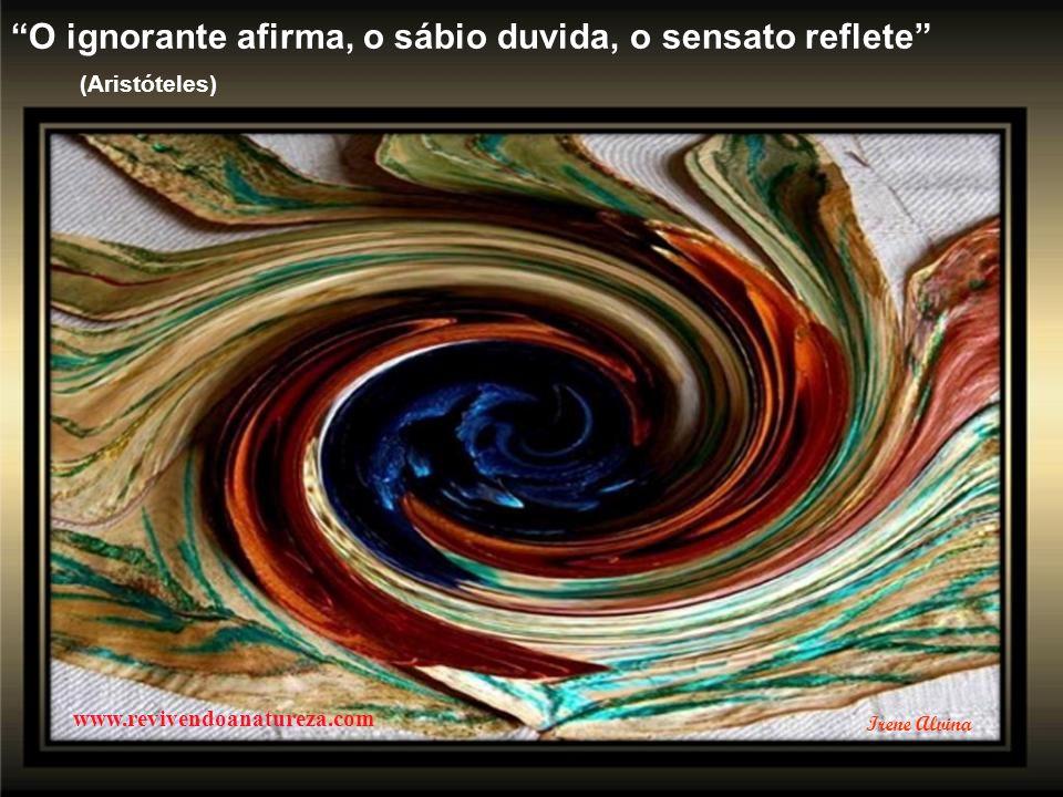 A verdadeira LIBERDADE só se pode alcançar com a ascensão e com a luta por conquistá-la (Pietro Ubraldi) www.revivendoanatureza.com Irene Alvina