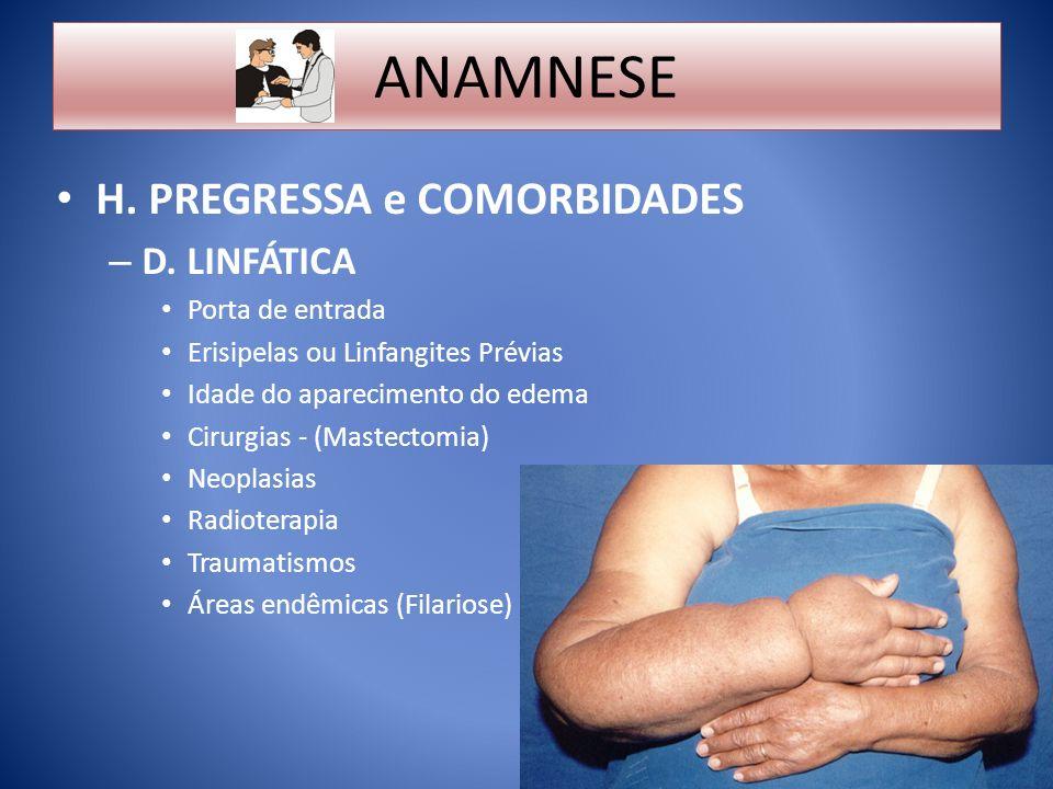 ANAMNESE - H.FAMILIAR D. ARTERIAL – Dislipidemia – HAS – DM D.