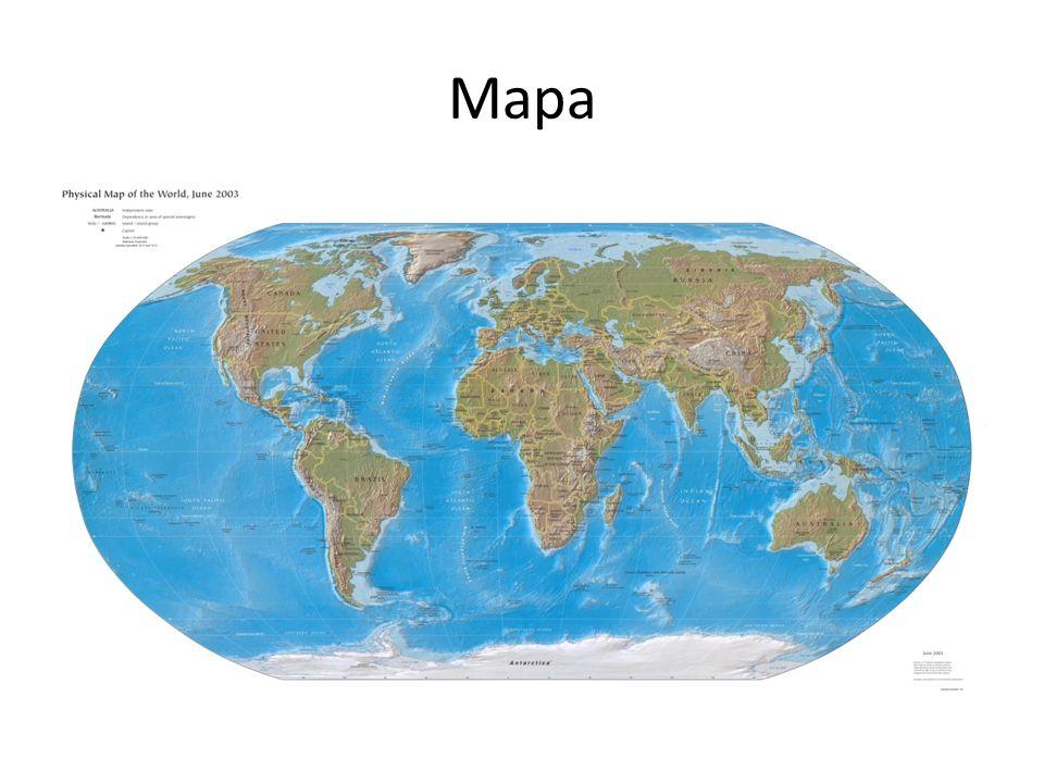 Tipos de Mapa Mapa político: representa a divisão territorial de um País, Estado ou Município.