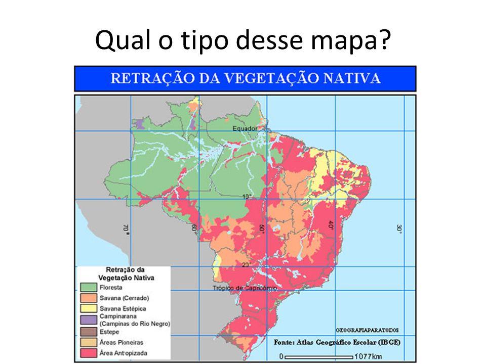 Qual o tipo desse mapa?