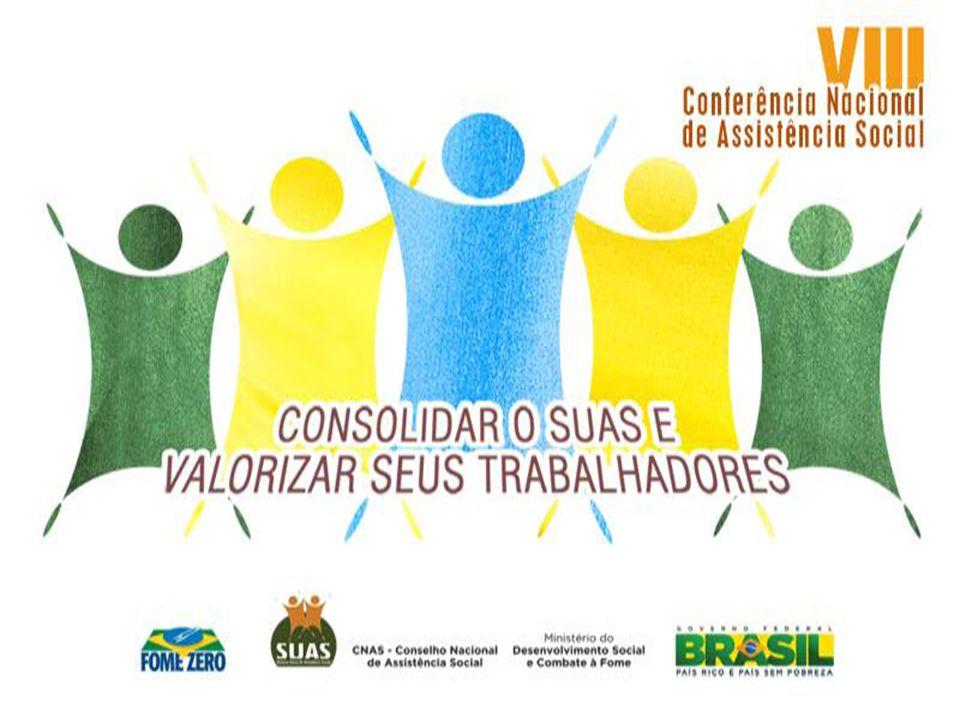 RESULTADOS ESPERADOS DO PROCESSO DE REALIZAÇÃO DAS CONFERÊNCIAS DE ASSISTÊNCIA SOCIAL Registro do processo de mobilização, da dinâmica da Conferência.