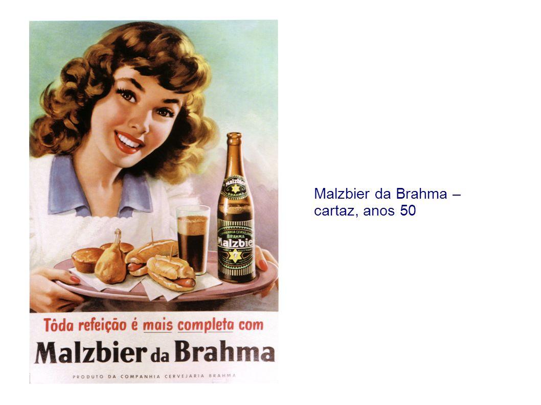 Faltou um alimento básico à sua refeição?...Então, enriqueça-a com Malzbier da Brahma.