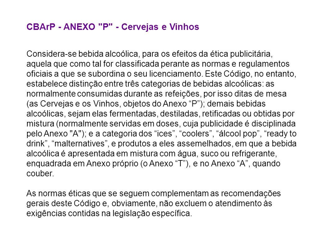 A publicidade submetida a este Anexo: 1.