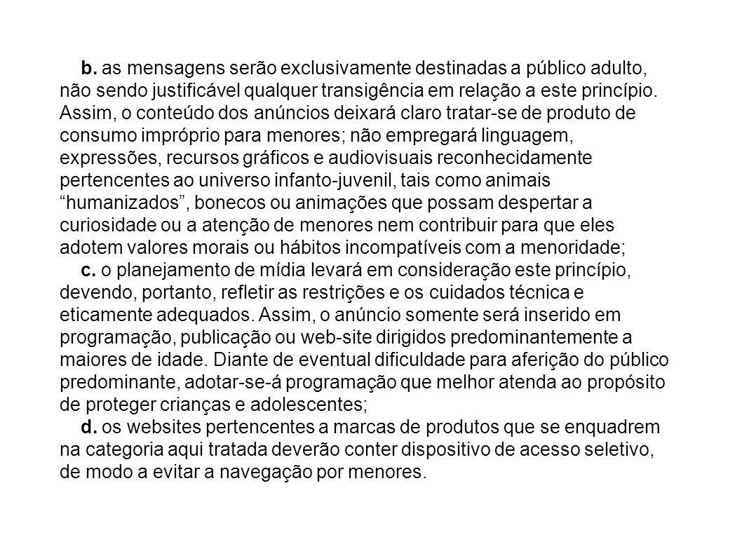 Lei n.º 9.294, de 15 de julho de 1996 Dispõe sobre as restrições ao uso e à propaganda de produtos fumígeros, bebidas alcoólicas, medicamentos, terapias e defensivos agrícolas, nos termos do § 4° do art.