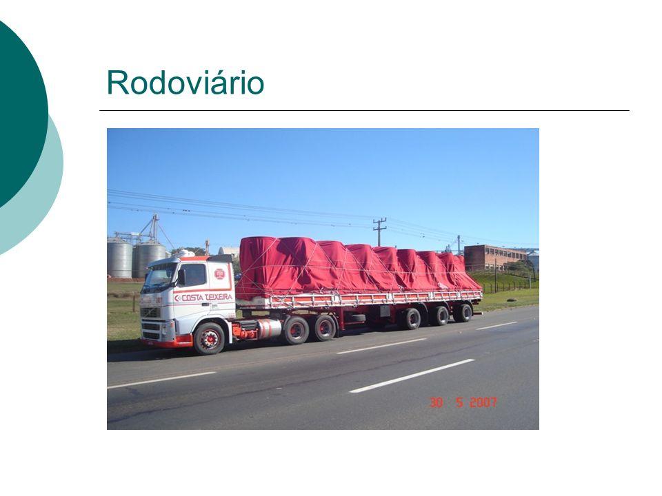 O mercado rodoviário é organizado em 4 partes Empresas de Transporte de Carga (ETC) Carreteiros (TCA) Empresas de Carga Própria (ECP) Transportadores individuais