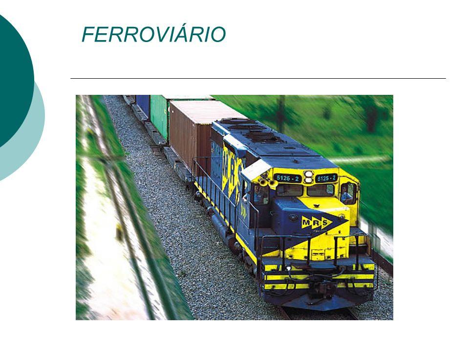 Ferrovias a densidade de tráfego em determinada rota é fundamental para justificar a construção da ferrovia.