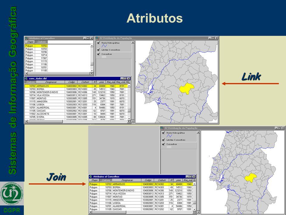 Sistemas de Informação Geográfica DGPR AtributosLink Join