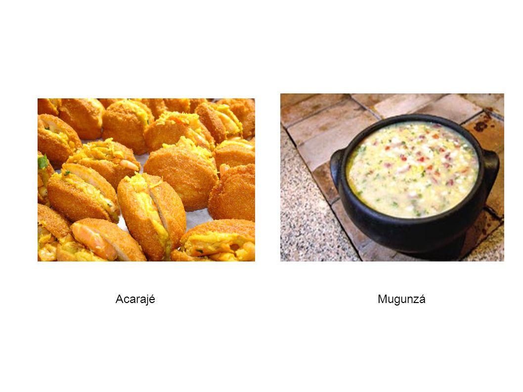 Peixe e carne das fazendas da região dominam o cardápio, juntamente com soja, arroz, milho e mandioca.