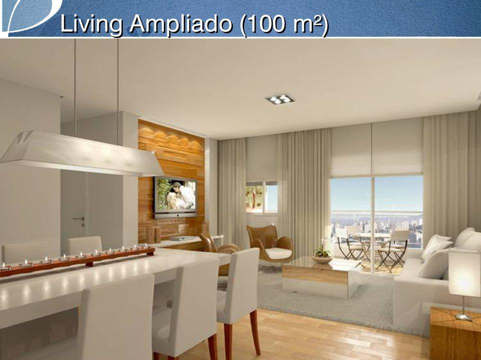 Living Ampliado (100 m²)