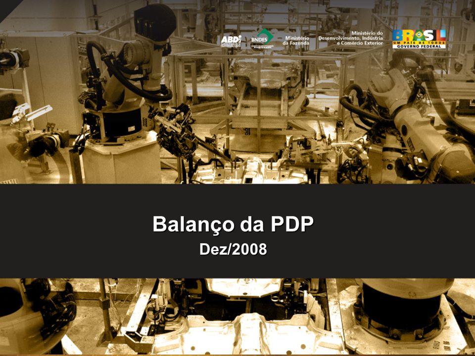 22 Balanço da PDP Dez/2008