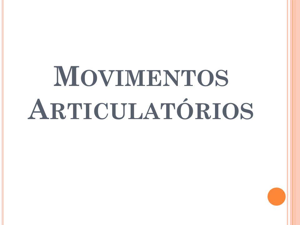 M OVIMENTOS A RTICULATÓRIOS
