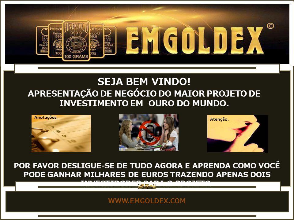 WWW.EMGOLDEX.COM ADMINISTRATIVE OFFICE - MAXIMILIANTRASSE 13 - MUNCHEN DEUTSCHLAND ESCRITÓRIO ADMINISTRATIVO DA EMGOLDEX NA ALEMANHA