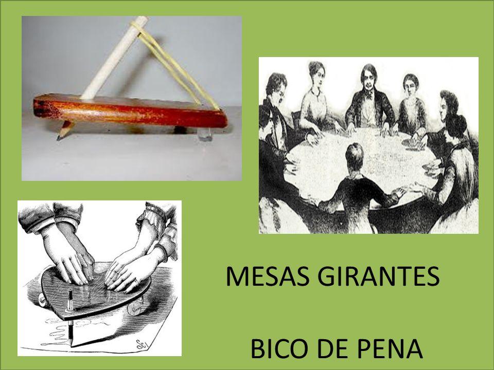 MESAS GIRANTES BICO DE PENA