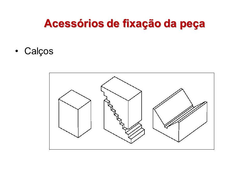 Acessórios de fixação da peça Calços