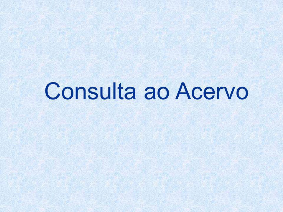 Consulta ao Acervo