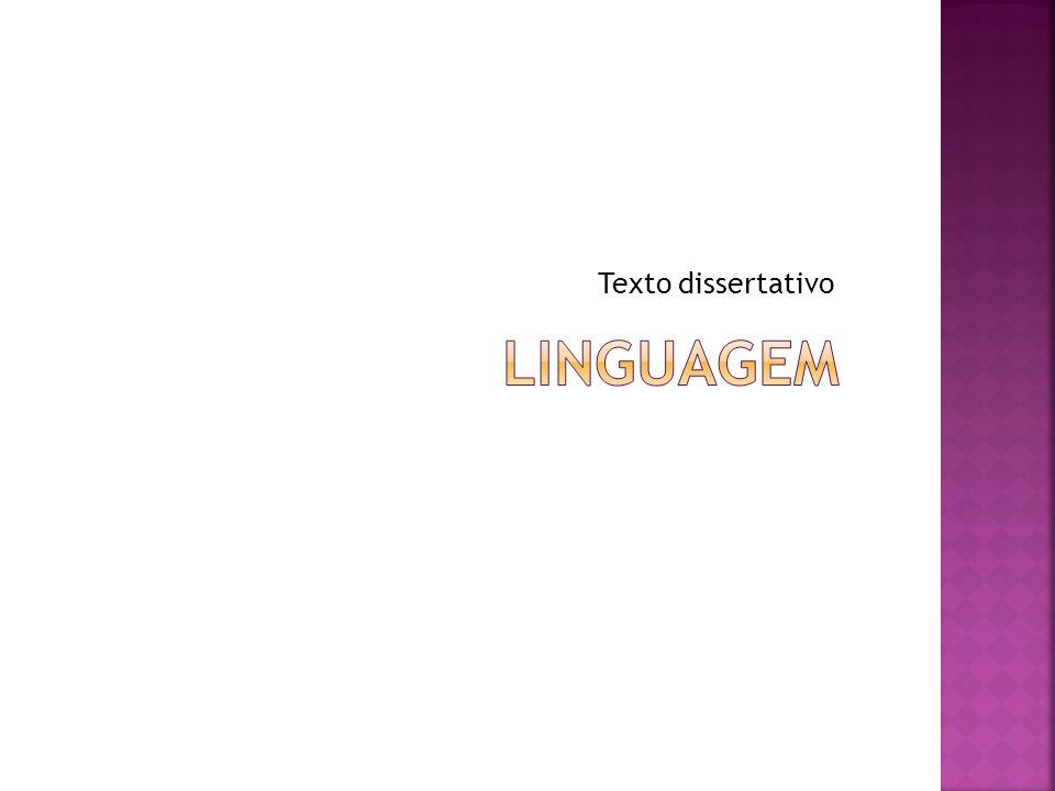 Texto dissertativo